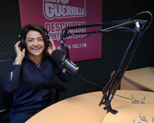 Amalia Sterescu la Radio Guerilla Cluj